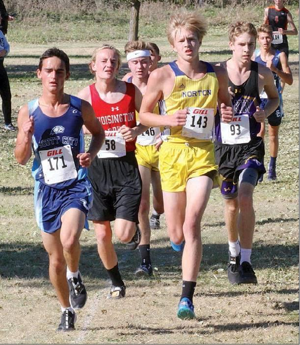 3 Beavers qualify for state x-country