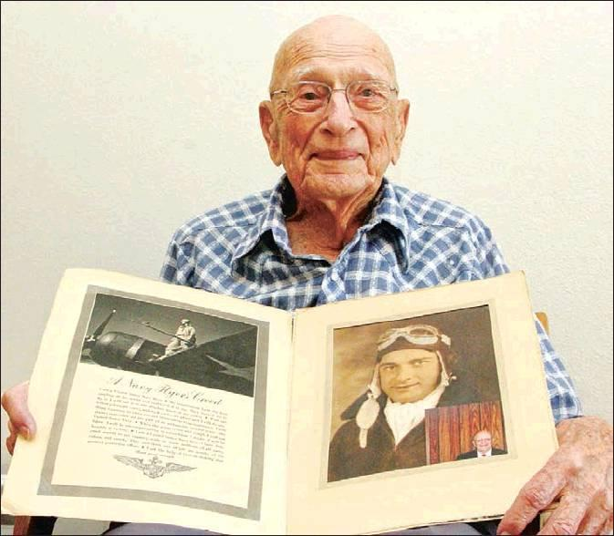 Knight proud of military service as WWII Navy pilot in Pacific Theatre