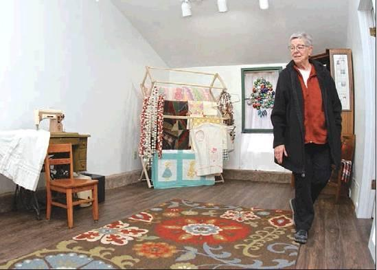 Carol's Cottage will become a place for sewing, quilting and 4-H entomology. (Record Photo)