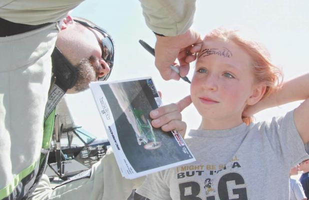 aerobatics autograph