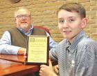 Ricker is district winner in mayor's essay contest